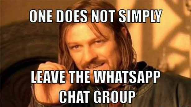 Funny Meme For Group Chat : Participating in whatsapp groups u the inner playground